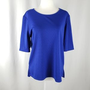 Notations Royal Blue Blouse LP